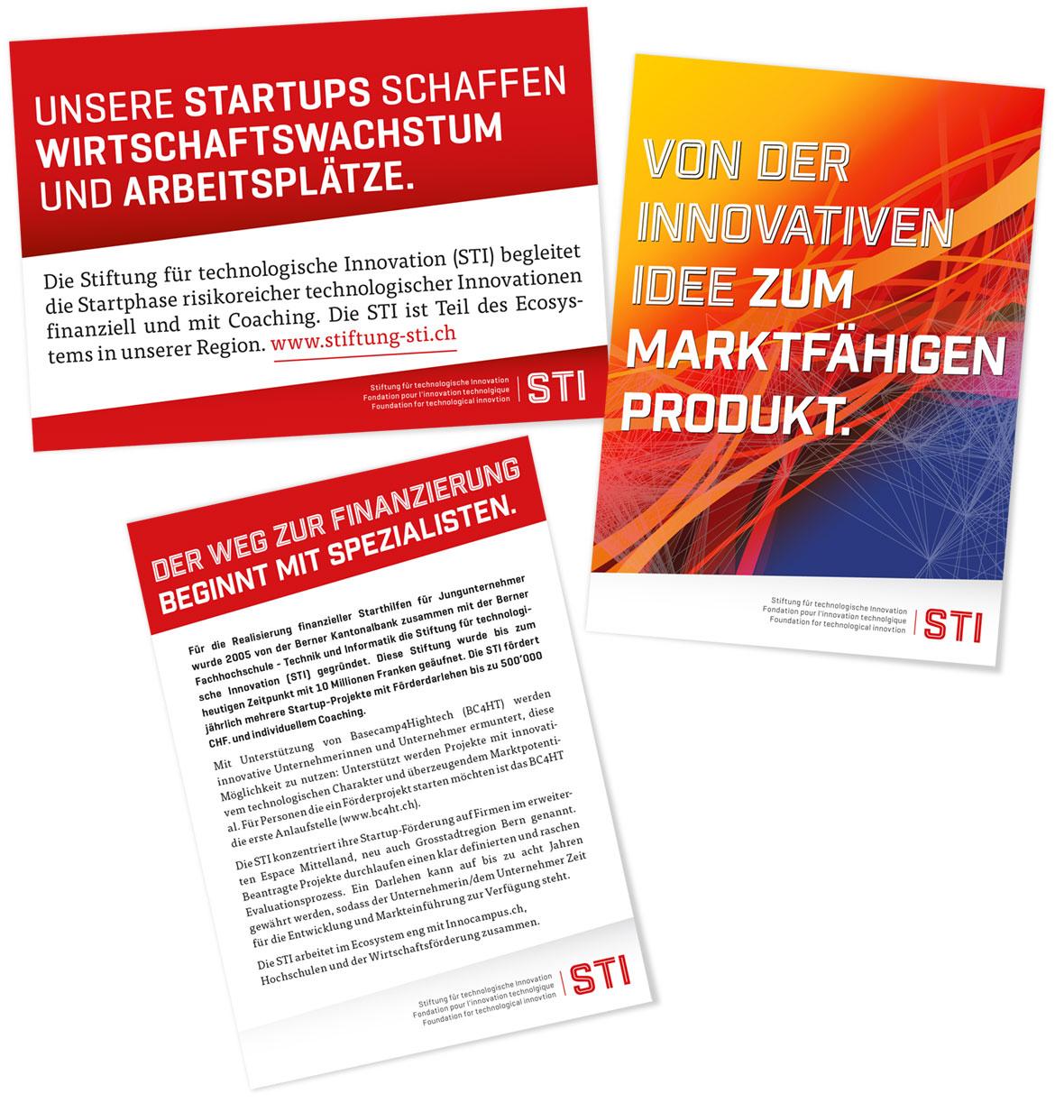 Stiftung STI Flyer