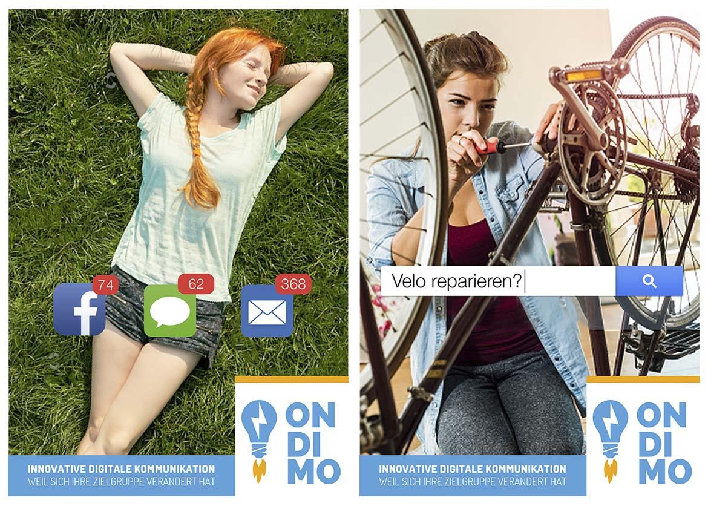 Ondimo Imagekampagne für Persoenlich