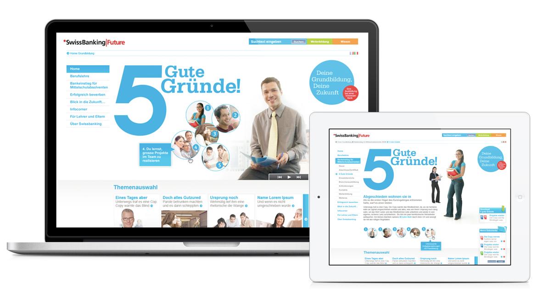 SwissBanking|Future Webseite