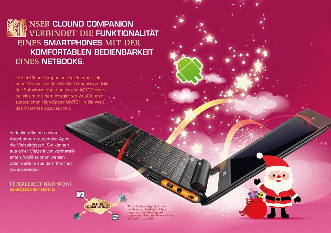 Toshiba Weihnachten Innenseite 3