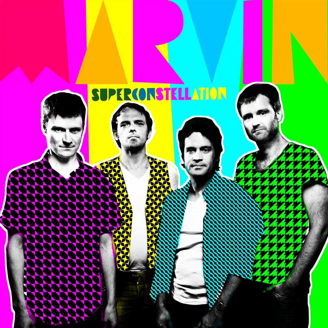 Marvin This Super Constellation LP Cover Variante 1