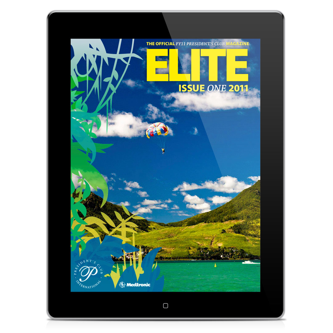 Medtronic Mauritius iPad Magazin