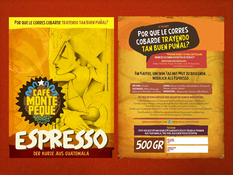 Café Montepeque Spezial-Vepackung