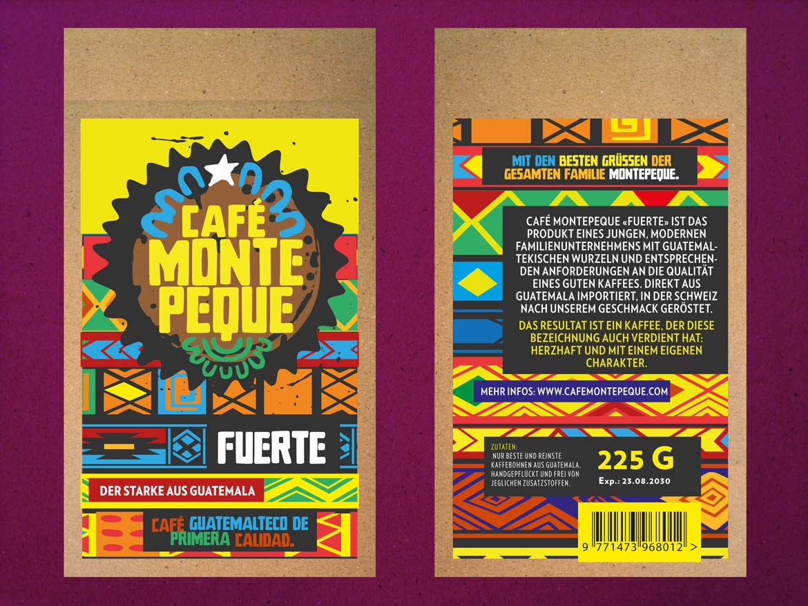 Café Montepeque die Vepackung