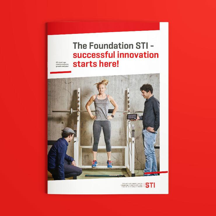 Imagebroschüre für die Siftung STI
